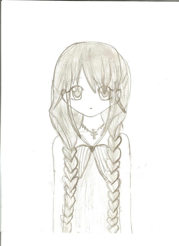 Anime Girl With Braids...