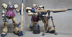 AMS-129SP Geara Zulu Sniper Custom (NOT MY GUNPLA)