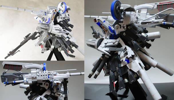 MSN-001X(Bst) Gundam Delta Kai Booster Unit Type