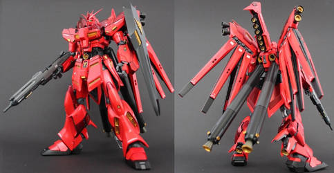 RX-93-z2 HI-Zeon Gundam by Colonel taka
