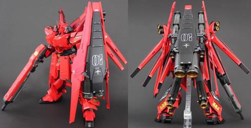 FA-93-Pz2 HI-Zeon Gundam Panzer by Colonel taka