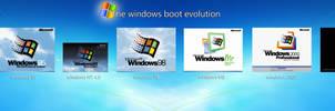 Windows Boot Evolution Updated