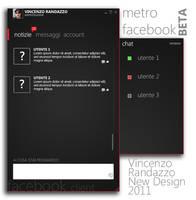 Modern Facebook Client by metrovinz