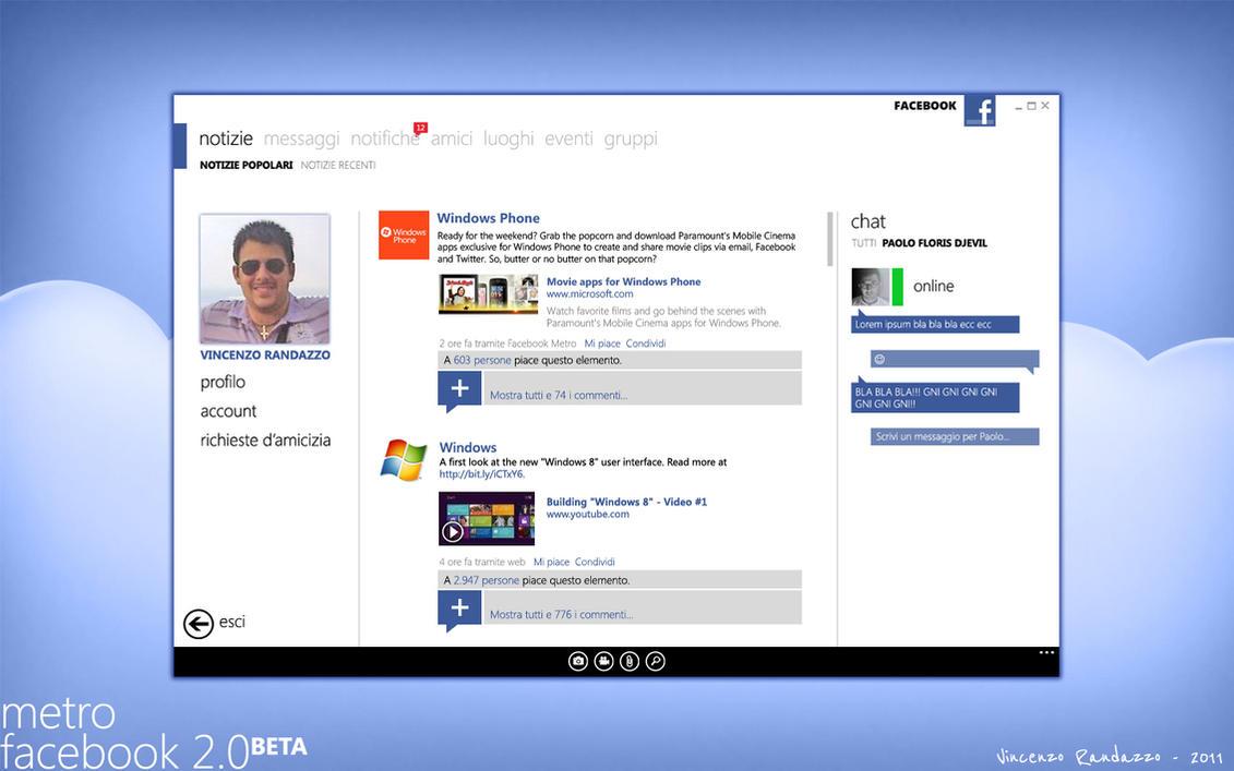 Modern Facebook 2nd version by metrovinz