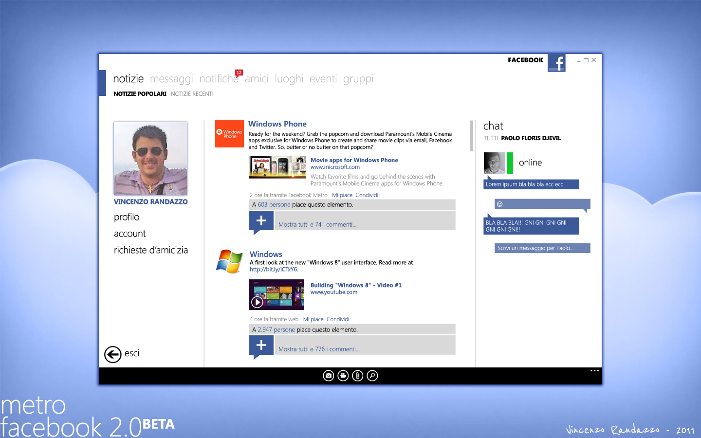 Modern Facebook 2nd version by metrovinz