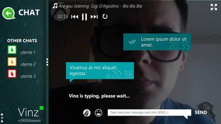 WhatsApp for Windows 8/8.1 Concept BETA 1.0 by metrovinz