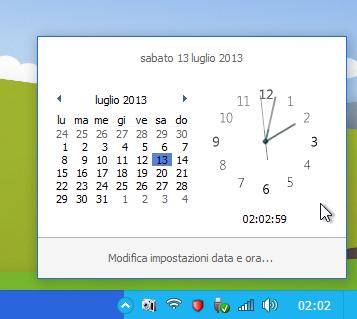 Modern Windows Clock Mod for Windows 7 - WIP by metrovinz