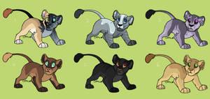 Lion cub adopts [CLOSED]
