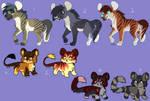 Hyena and feline adopts - CLOSED