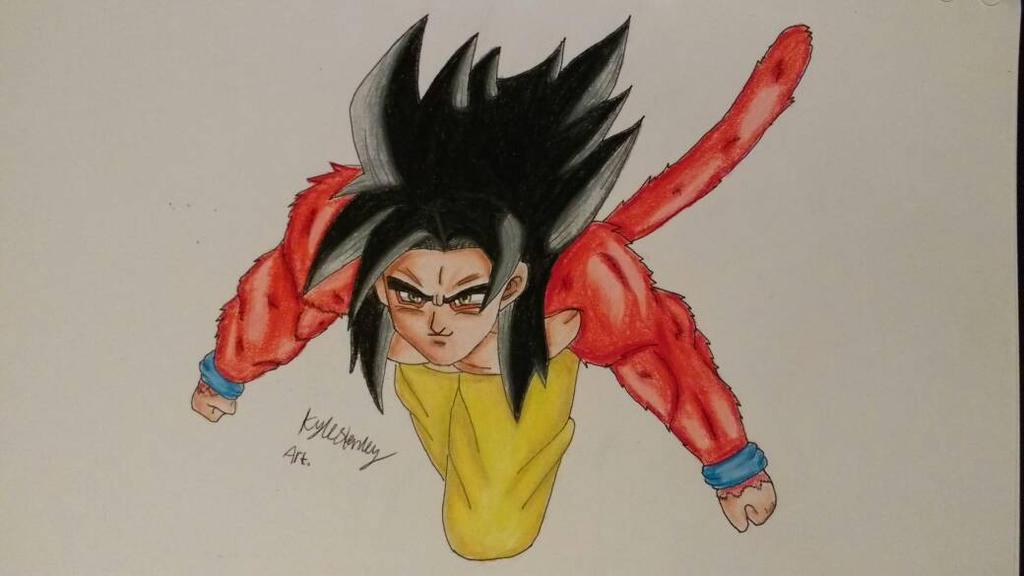 Goku SSJ4 by Luxrainion