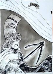 Day 10 : GIGANTIC - Marine Witch - Weapon by MisSarena