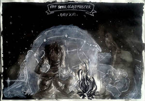 Day 16 : Fat-Star Witch -Beastmaster/Veterinary