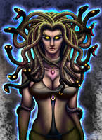 Medusa. by GIANTLY