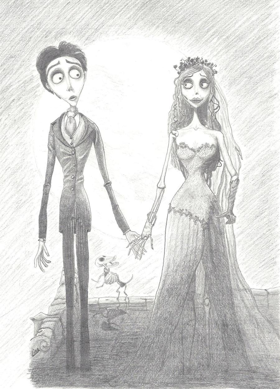 Corpse Bride de Tim Burton by MissyLico on DeviantArt