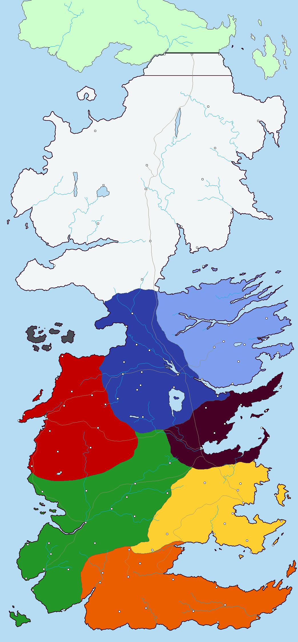 Westeros Basemap by Todyo1798
