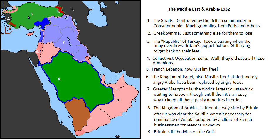Alternate History: Part 2- Middle East by Todyo1798 on DeviantArt
