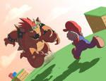Mario v Bowser