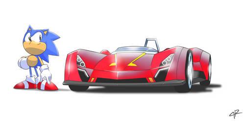 Sonic Drift by JR343