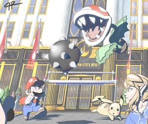 Super Smash Bros. Ultimate by JR343