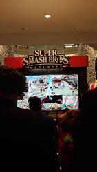 Smash Ultimate at MOA: Short story. by JR343