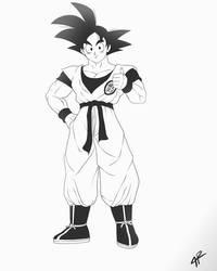 Son Goku by JR343