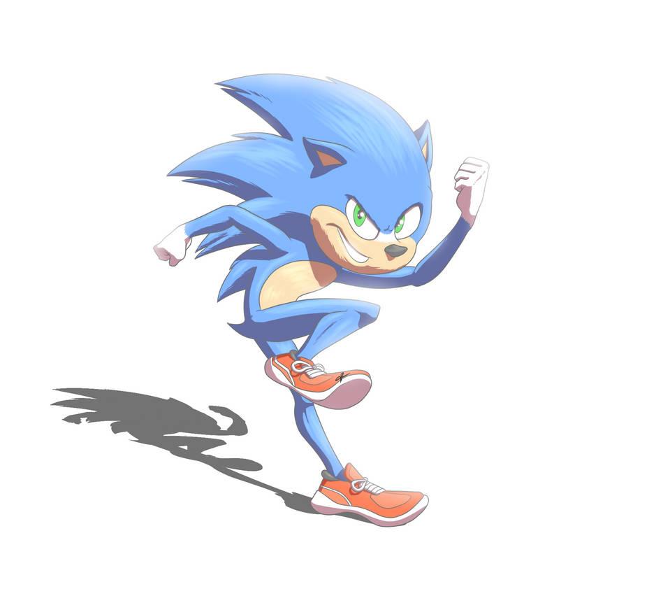 Sonic the Hedgehog Movie 2019 by JR343