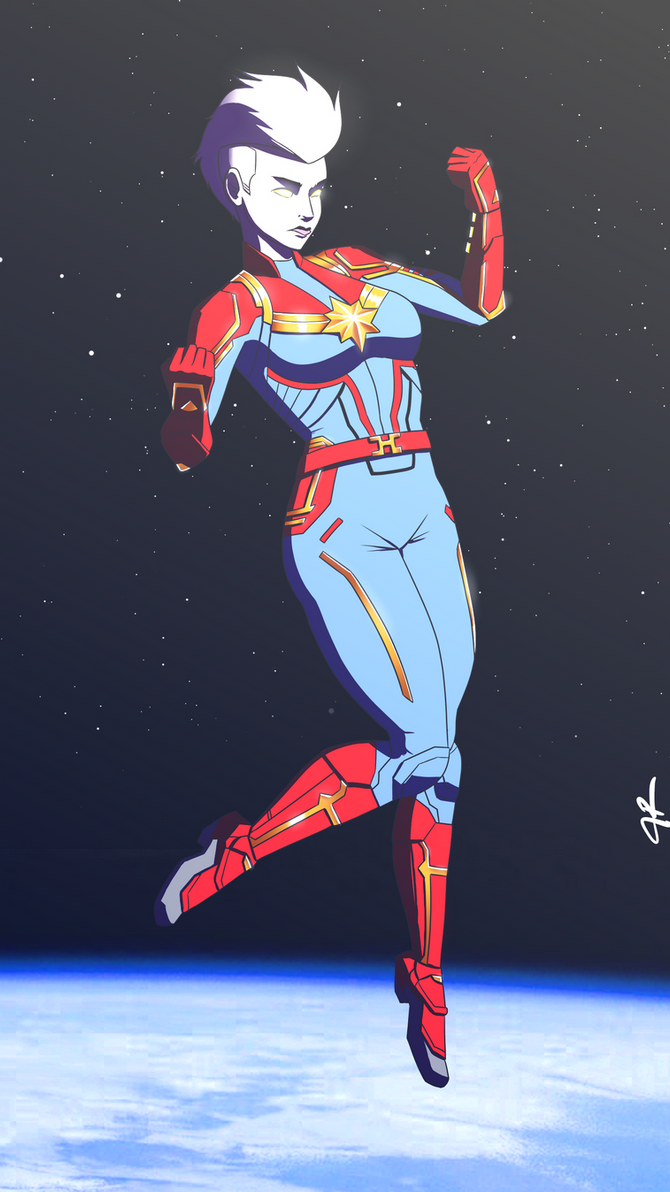 Captain Marvel by JR343