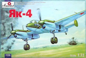 Yakovlev Yak-4 - Soviet light reconnaissance bombe by TheDesertFox1991