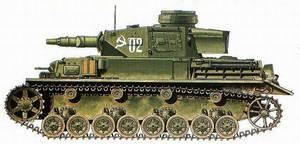 Pz.Kpfw IV Ausf. F1. The107th Separate Tank Battal