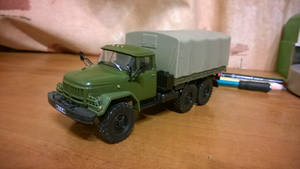 ZIL-131 - Soviet and Russian off-road truck of the