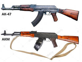 AK-47 and AKM by TheDesertFox1991