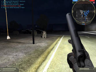 Battlefield 2 - Special Forces M1911 Screen by TheDesertFox1991