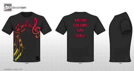 Music Colors My Soul