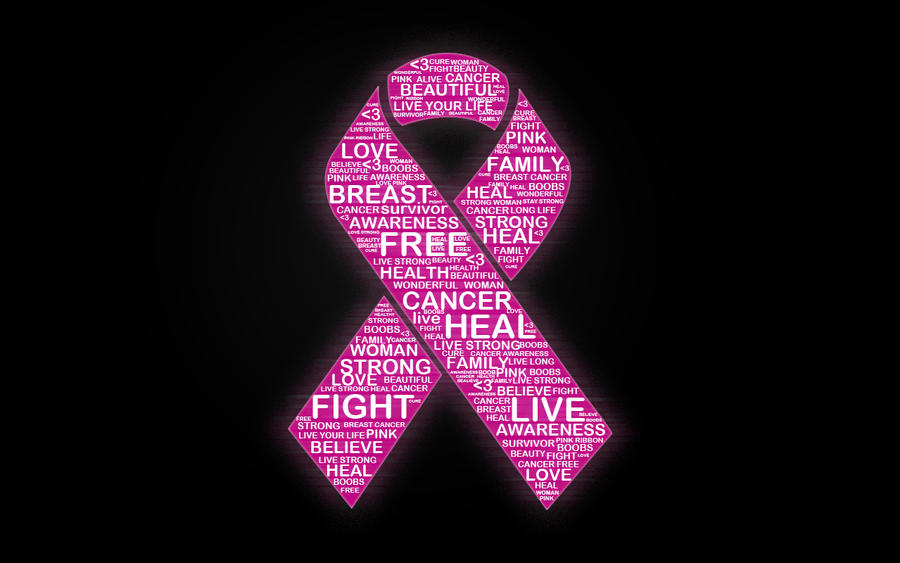 gallery for breast cancer wallpaper