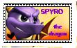 Spyro The Dragon Stamp.