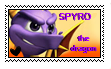 Spyro The Dragon Stamp. by neon-pantheron