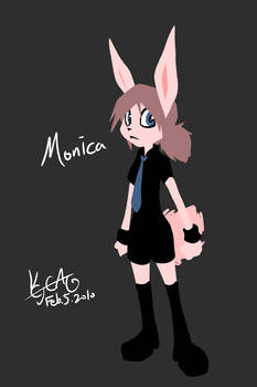 Monica game character ref