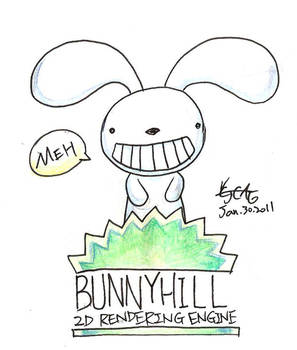 Bunnyhill logo prototype