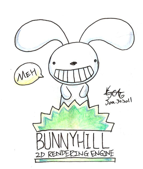 Bunnyhill logo prototype by cjcat2266