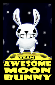 Team Awesome Moon Bunny