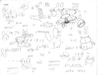 CS120 bunny doodle by cjcat2266