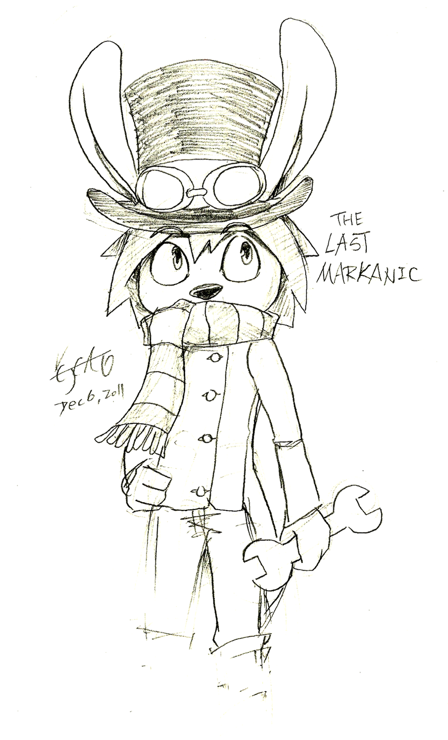 The Last Markanic lineart by cjcat2266