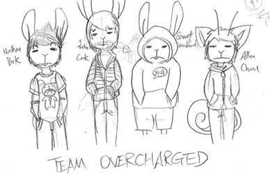 The OverCharged Four by cjcat2266
