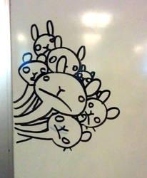 Moar Bunny Shrooms by cjcat2266