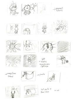 Photon Bunny storyboard