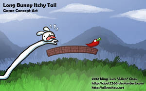 Long Bunny Itchy Tail