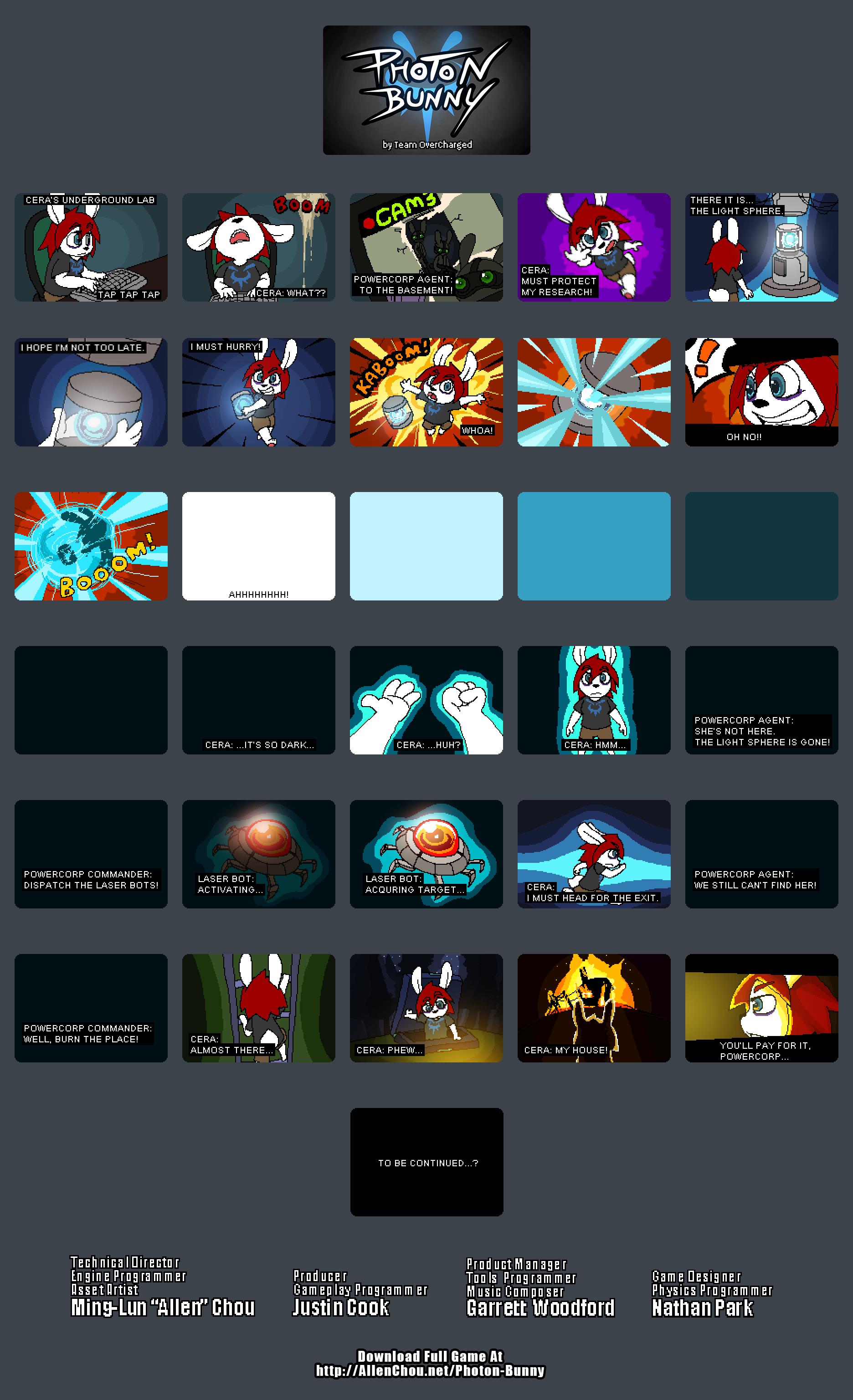 Photon Bunny Cutscenes by cjcat2266