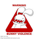 WARNING : Bunny Violence