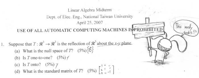 Linear algebra bunny by cjcat2266