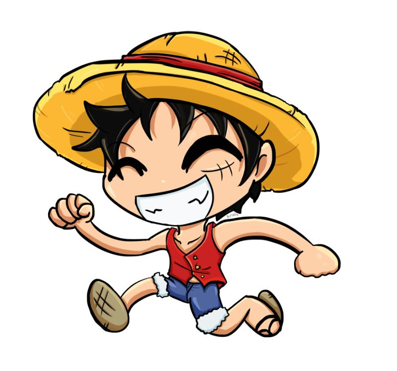 Chibi Luffy Doodle By Kirielu On Deviantart